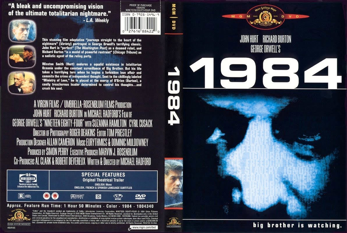 Análise Fílmica: 1984 – Michael Radford – Por André Lopes Apude (UFABC), Caio Rampazzo Cavalcanti (UFABC), Juliana Macedo De Araújo (UFABC), Murilo Cesar Da Silva (UFABC), Raphaela Teles De Oliveira (UFABC)